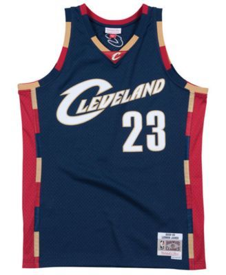 brand new a6075 08b59 Mitchell & Ness Men's LeBron James Cleveland Cavaliers ...