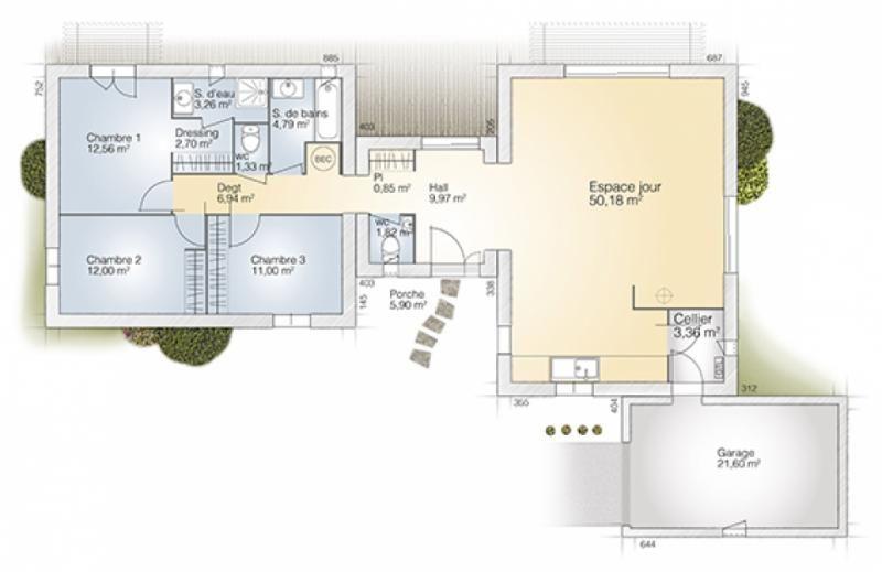 Maison 5 pièces 120 m² à vendre Puyricard 13540, 591 800 \u20ac - Logic - construire une maison de 200m2