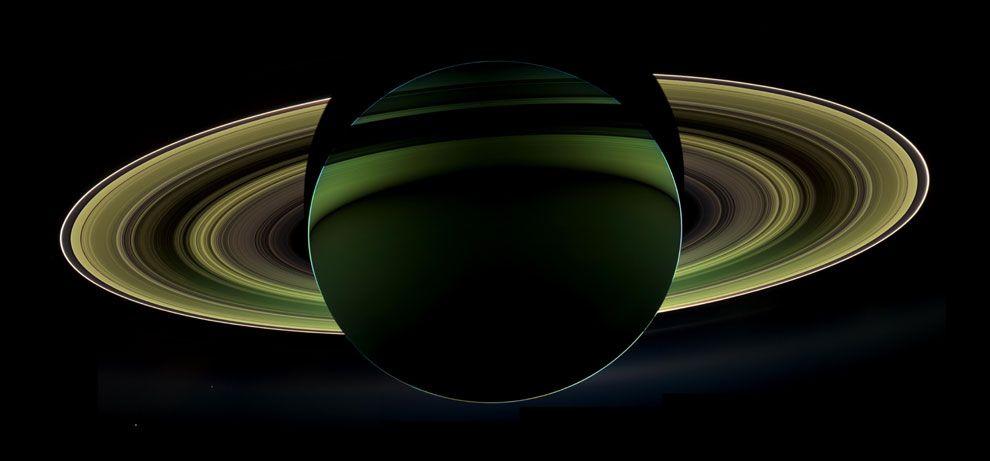 Saturno, el adorno navideño más bello