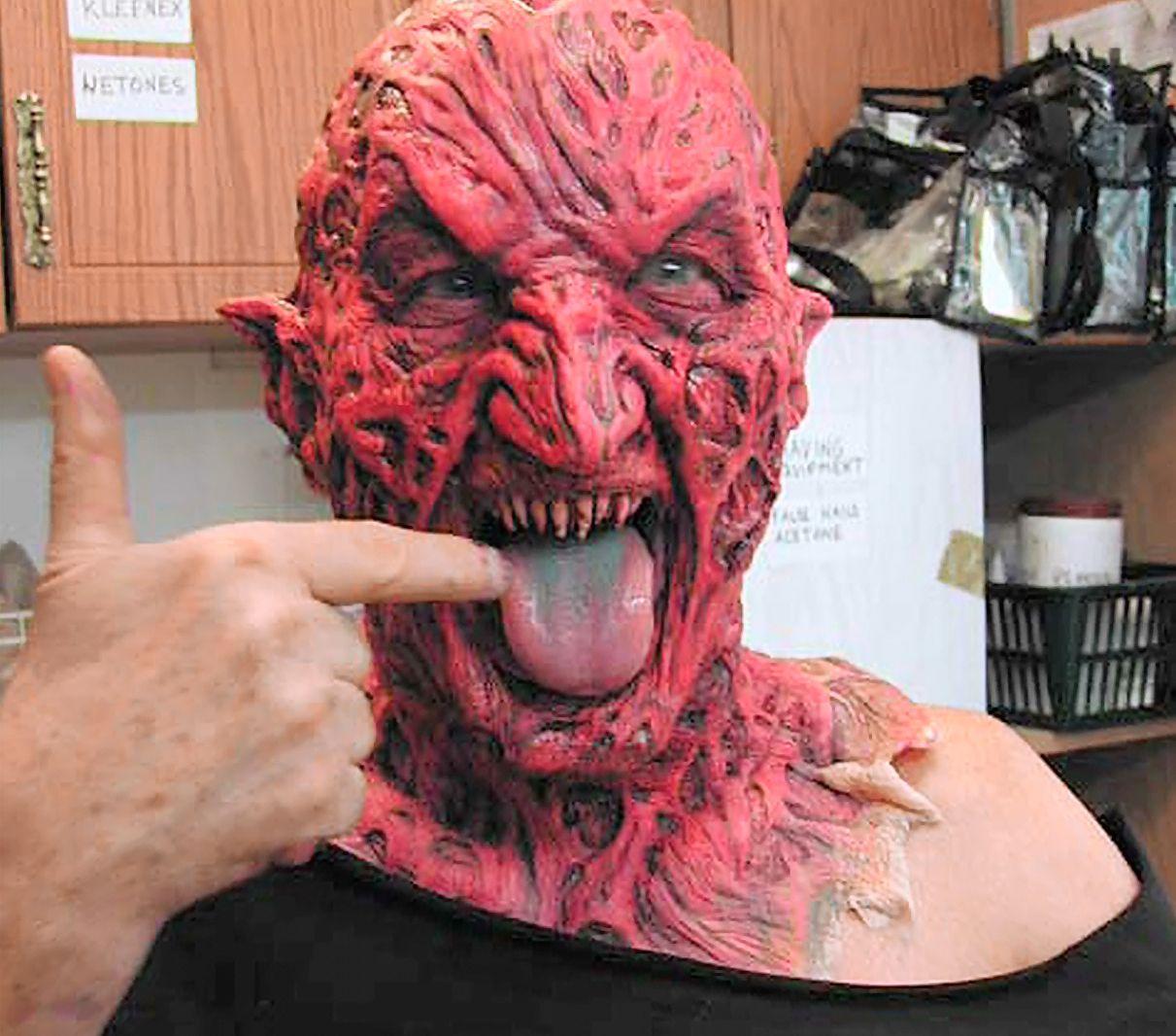 Behind The Scenes Freddy Vs Jason Masks Freddy