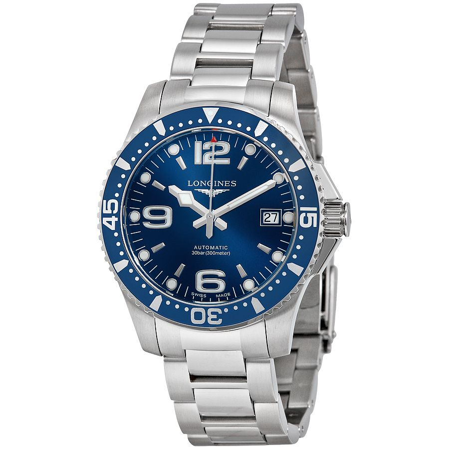 Longines Hydroconquest Automatic >> Pin On Diver Style Watches 41mm Or Less Case Diameter