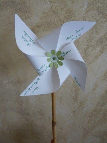 Menu moulin à vent