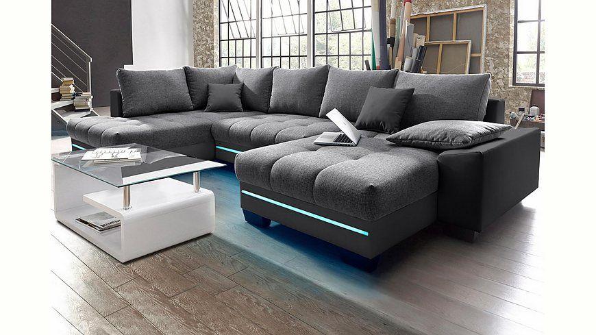 Good Wohnlandschaft mit Beleuchtung wahlweise mit Bluetooth Soundsystem Energieeffizienz A Jetzt bestellen unter