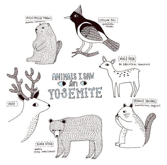 Bjorn Means State Park.  #kids #illustration