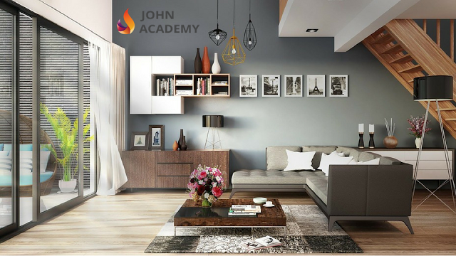 Diploma In Interior Design John Academy Minimalist Home Decor Minimalist Home Interior Wall Design