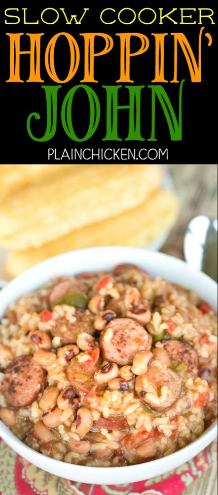 slow cooker hoppin' john  perfect for ringing in the new