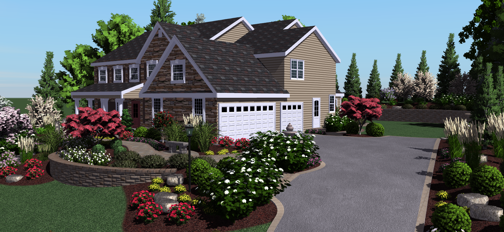 Professional Landscaping Visionscape Takes Professional 3d Landscape Design Software Social Landscape Design Software Free Landscape Design Home Landscaping