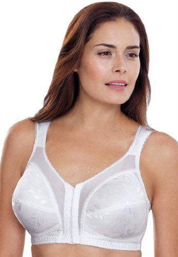 Playtex Plus Size Bra, Front Hook 18 Hour Just My Size By Playtex ...