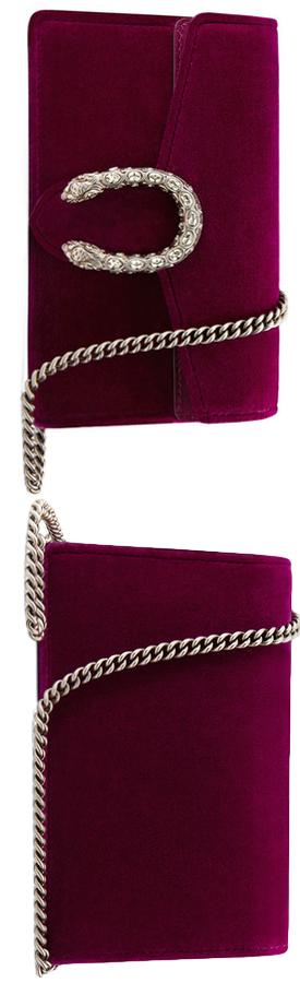 81181f86c39b Gucci Dionysus Velvet Super Mini Bag Fuchsia.