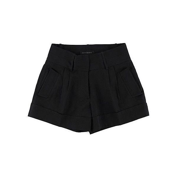 La Garçonne ❤ liked on Polyvore featuring shorts, bottoms, pants, short en short shorts