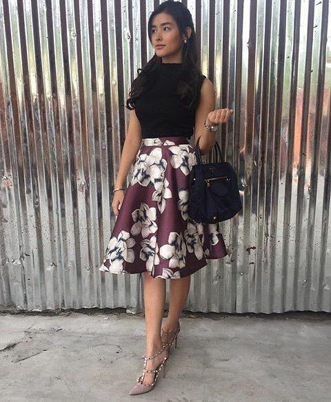 Liza Soberano Serene Marchesa Outfit In Dolce Amore