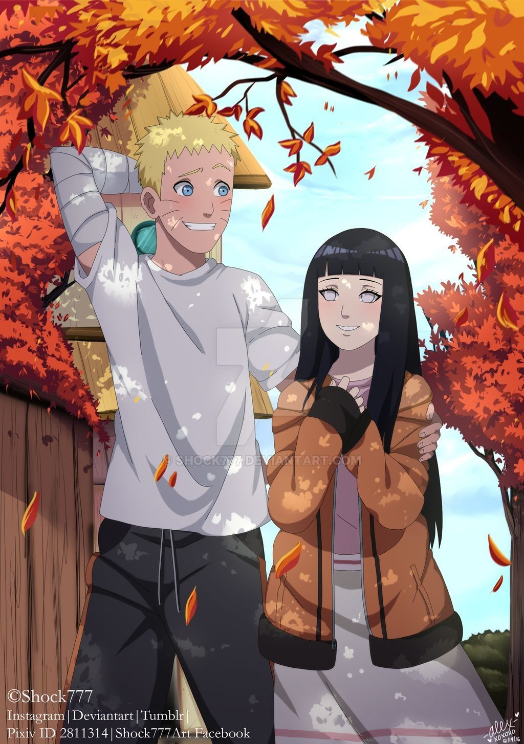 Naruhina Fan Magazine Entry By Shock777 On DeviantArt