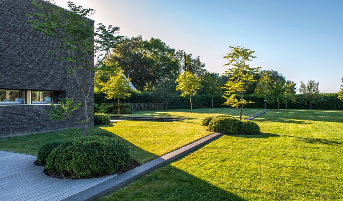 Aangelegde tuinen door tuinonderneming t groene plan biologisch