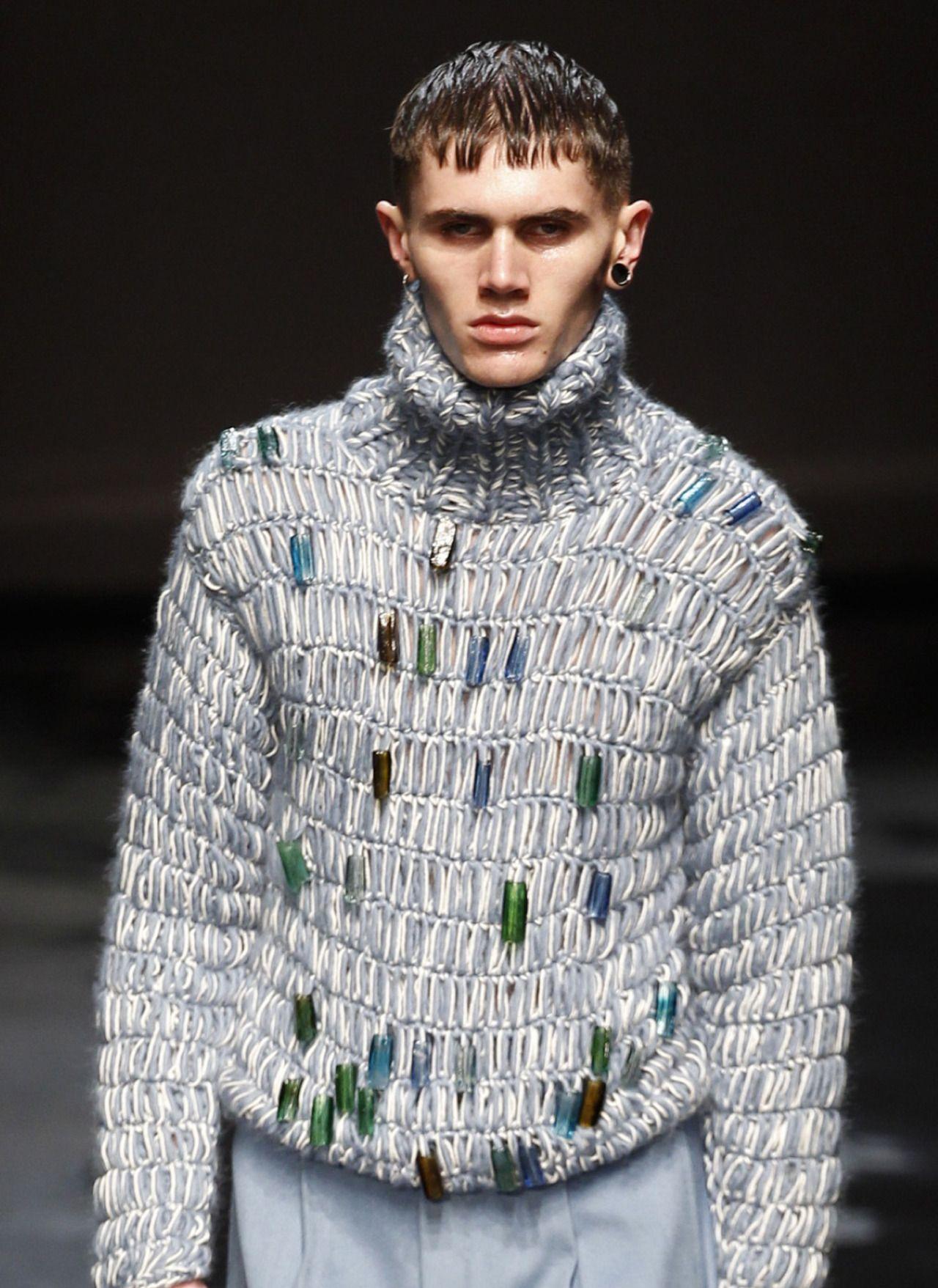 Decorialab knitwear Studio www.decorialab.com — monsieurcouture: Topman F/W 2014 Menswear London...