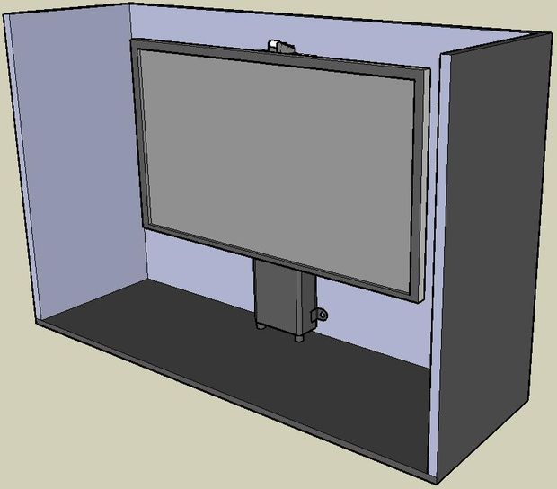 Home Automation POP UP TV LIFT Cabinet Installation Instructions ...