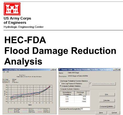 HecFda By Hydrologic Engineering Center  The Flood Damage