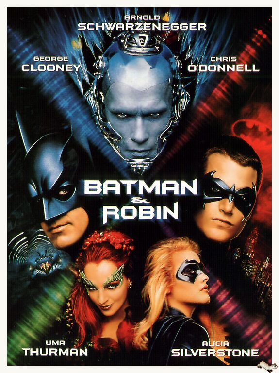 Batman Robin 1997 Batman And Robin Movie Robin Movie Batman Film