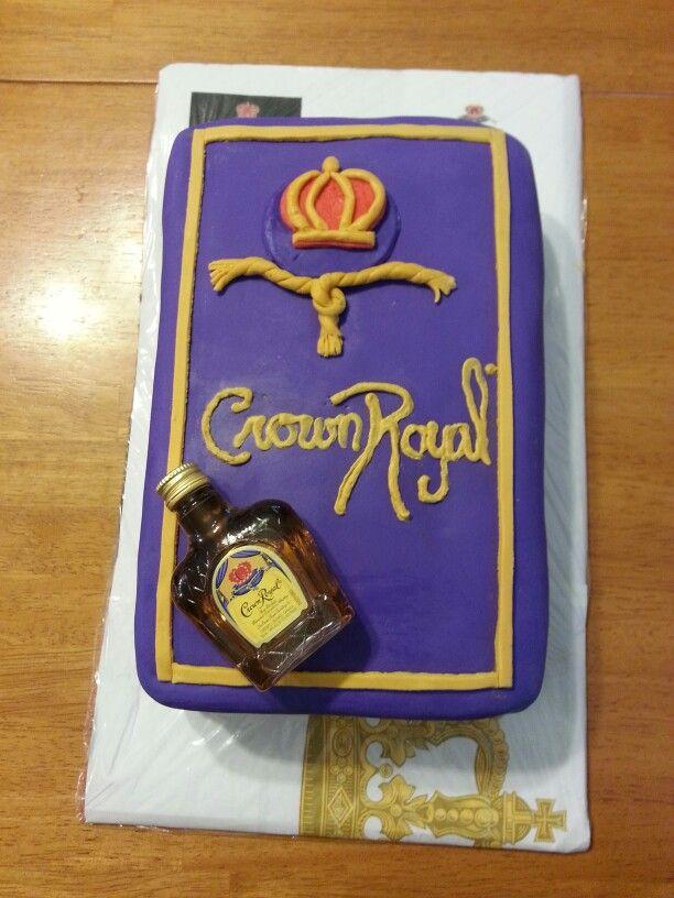 Birthday Royal Cake Hd Images : Crown Royal cake A lil Cake! Pinterest Crown royal ...