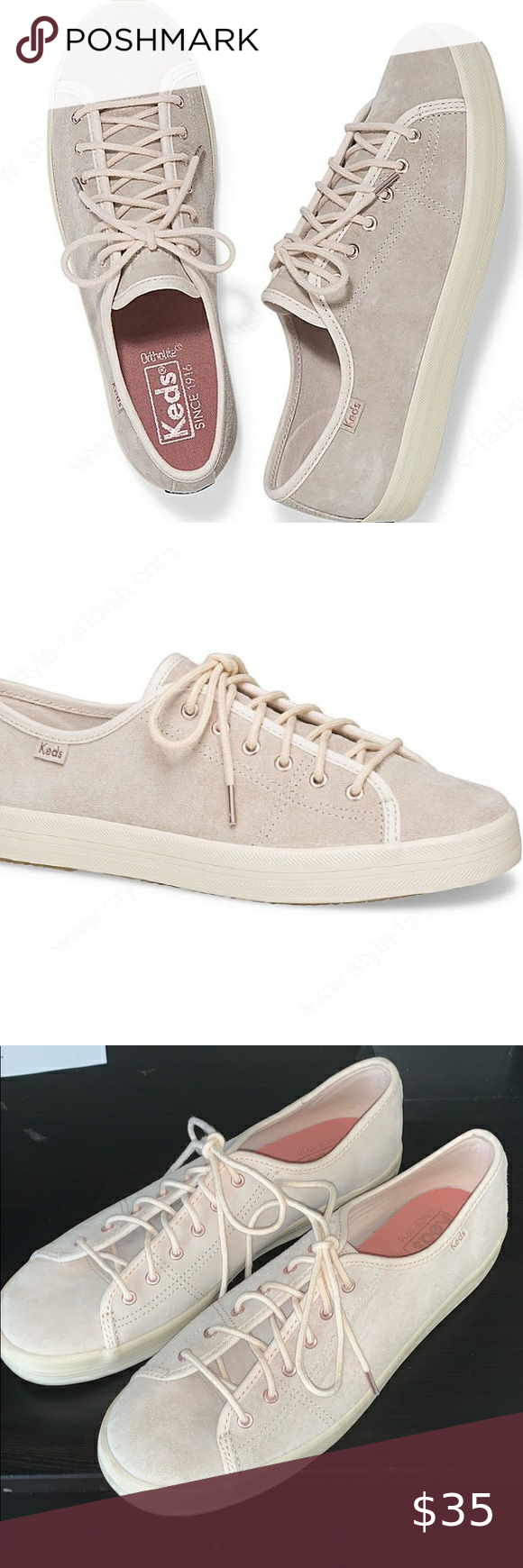 Keds Kickstart Suede Sneakers Petal