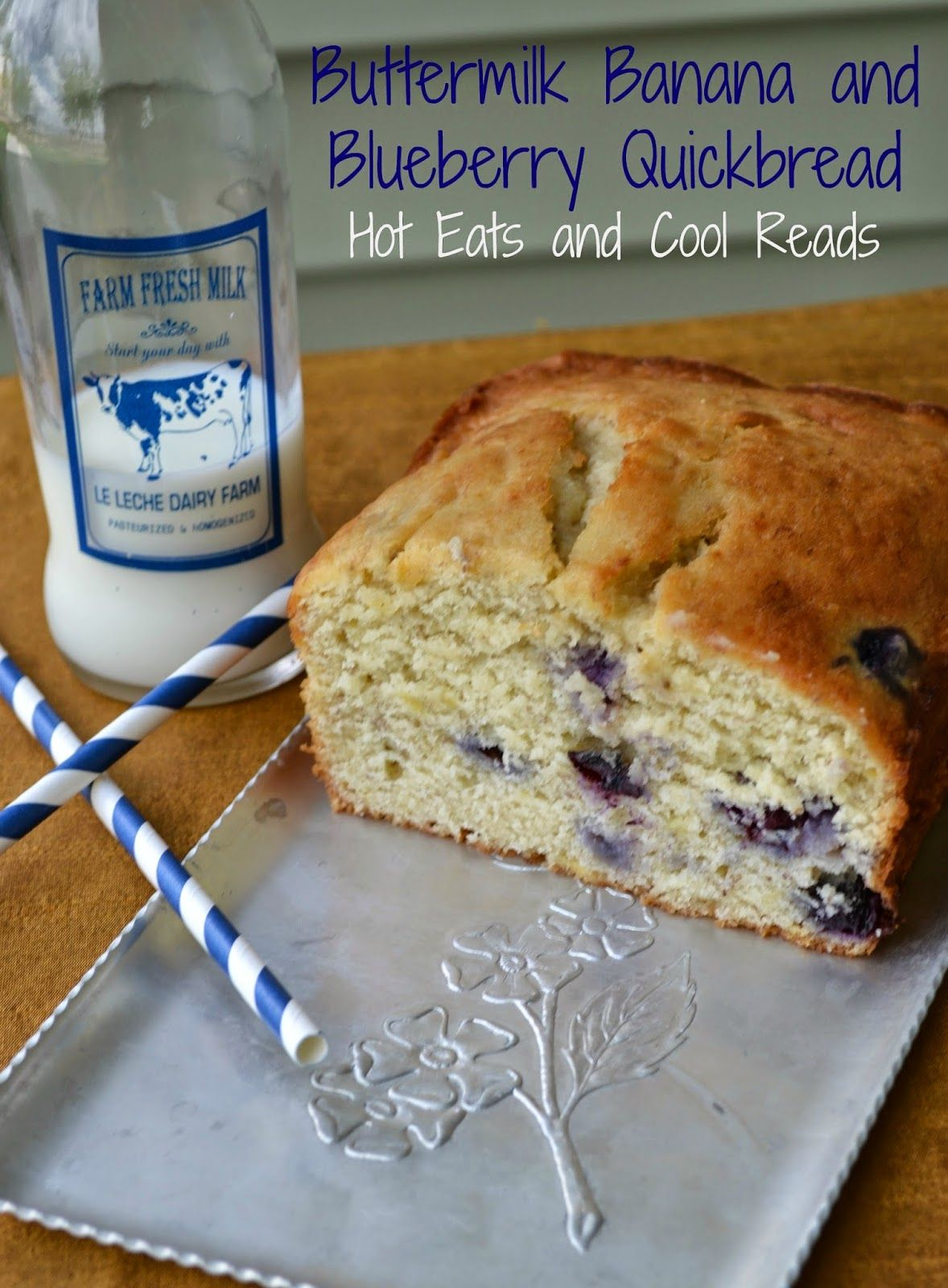 Buttermilk Banana And Blueberry Quick Bread Recipe Buttermilk Banana Bread Banana Recipes Quick Bread Recipes