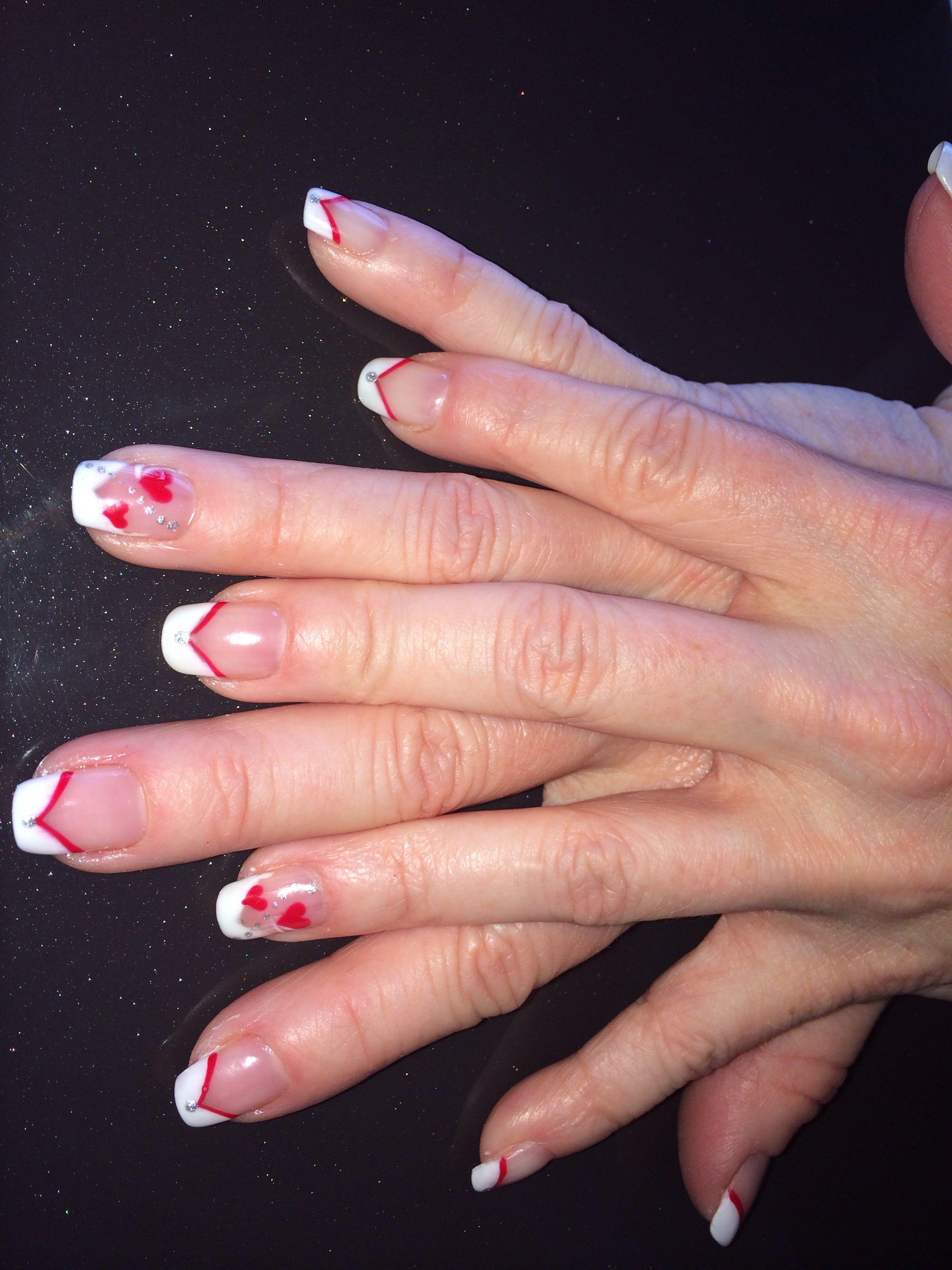 Valentine nail art design at Cinderella nails and spa.   Nail Art ...