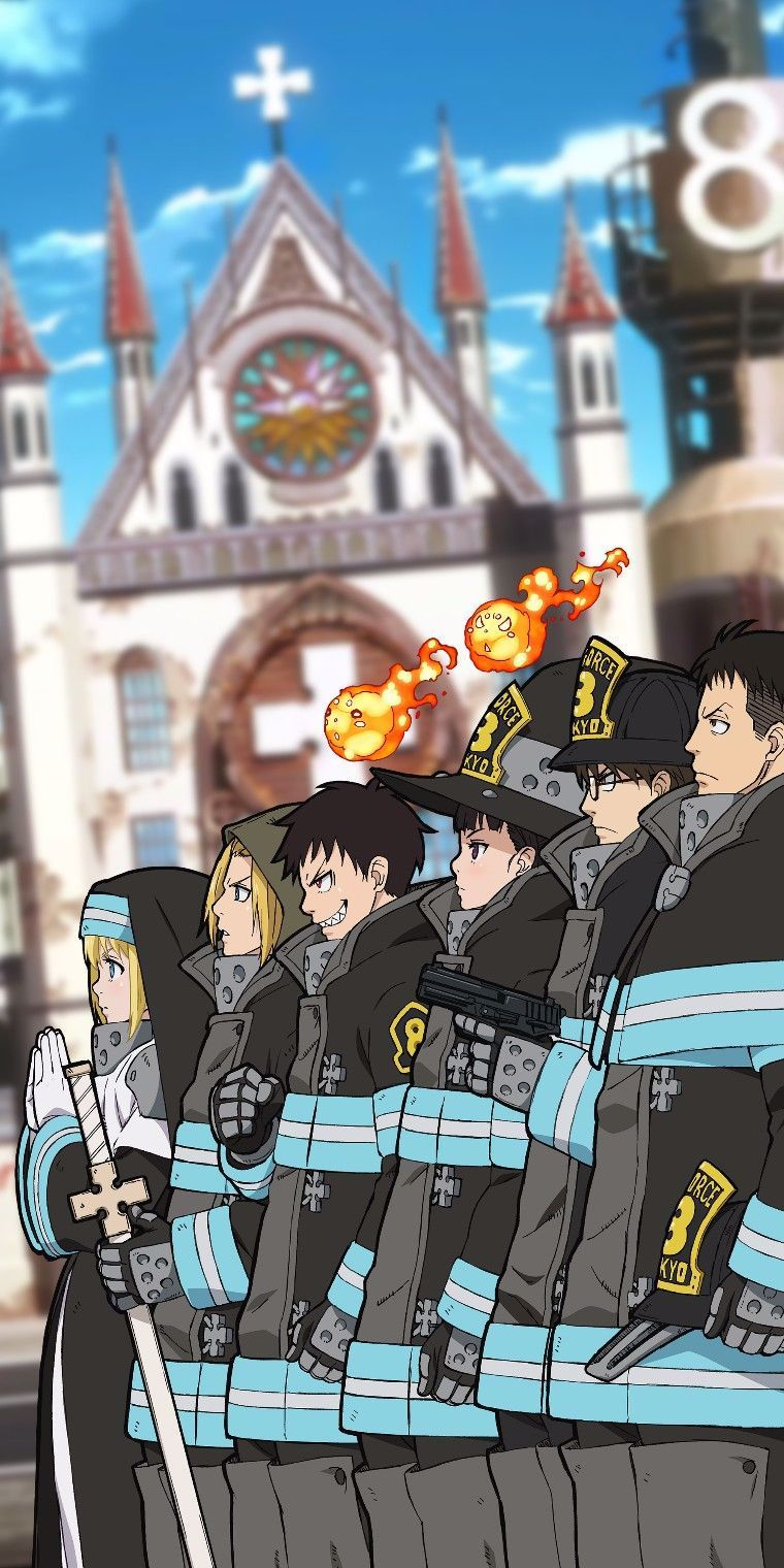 Fire Force Wallpaper in 2020 (With images) Anime