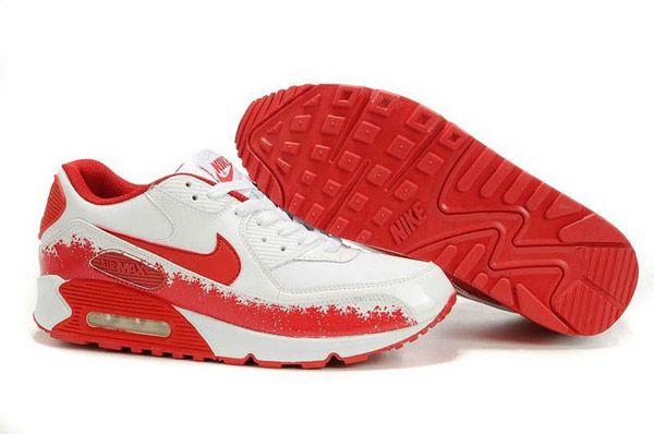 the latest b3221 b6b91 ... 309299-163 Nike Air Max 90 Splash White Blood Splatter AMFM0653 ...