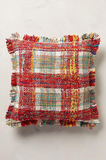 Woven Hanover Pillow - anthropologie.com
