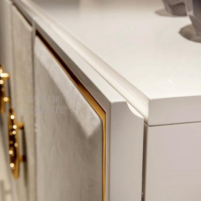 Luxury Leather Sideboard Taylor Llorente Furniture Leather