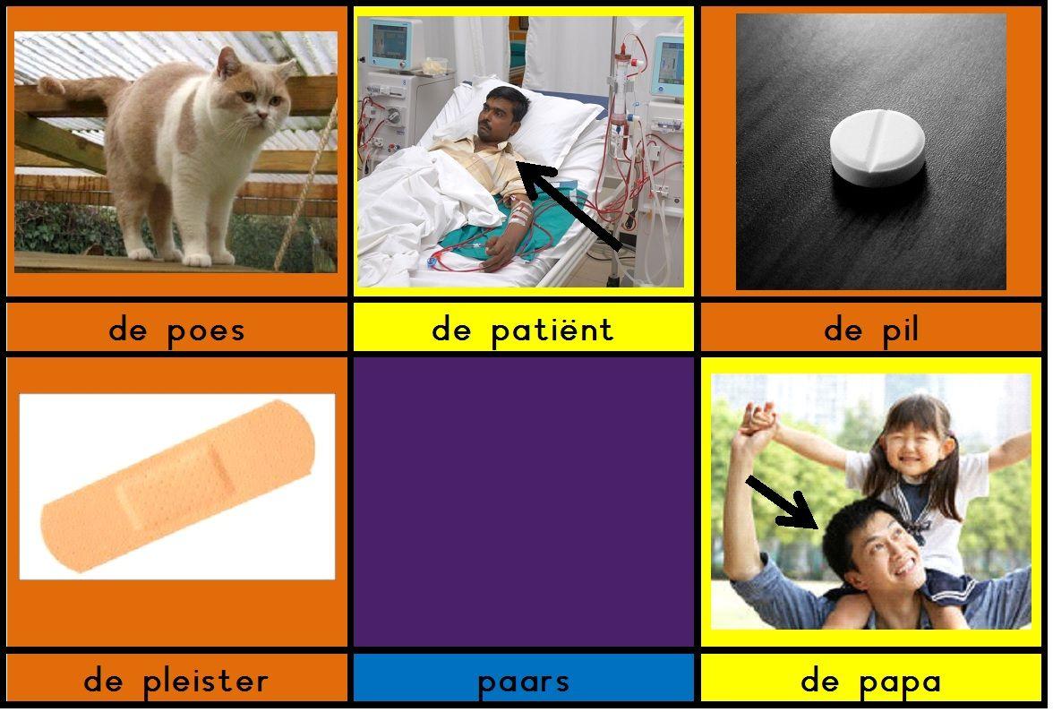 EN ANDERE KAARTEN BIJ LETTERS OP: woordkaartjes die je kunt gebruiken bij het aanleren van de klank /p/