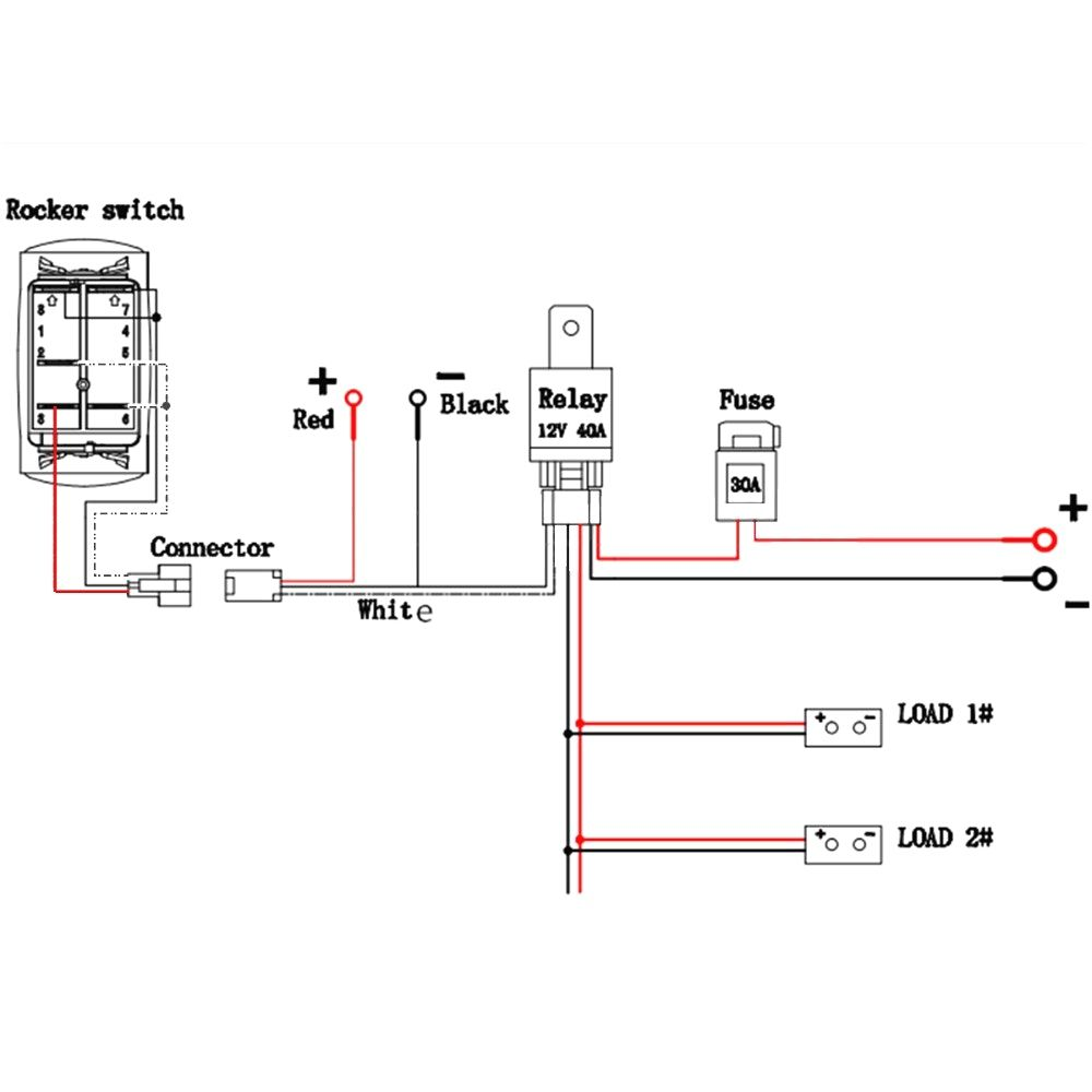 12v 5 Pin Relay Wiring Diagram Deltagenerali Me Light Switch Wiring Electrical Circuit Diagram Diagram