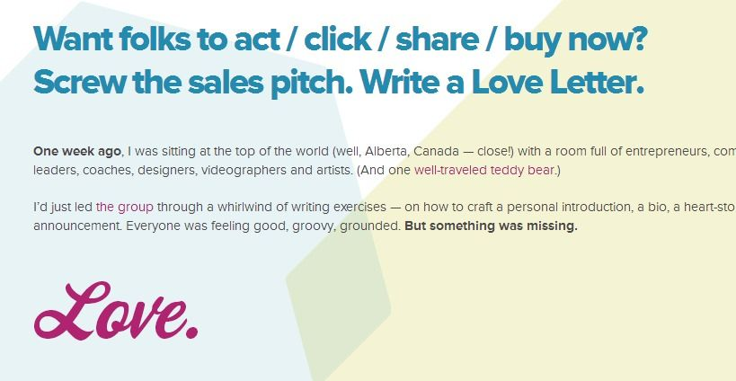 how to write a sales pitch letter