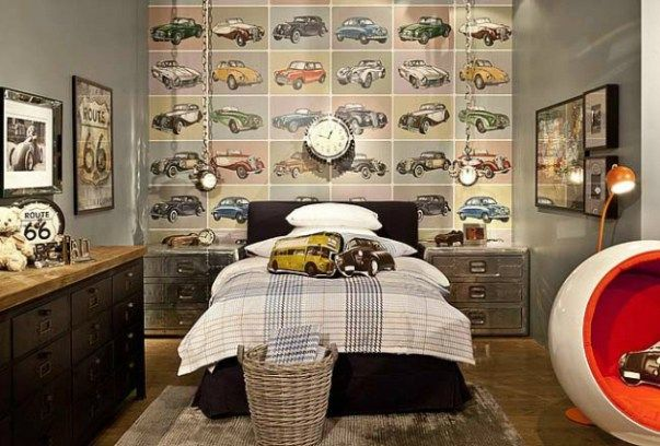 Retro Bedroom Design Enchanting Retro Bedroom Designs With Pin Up Wallpaper  Bedroom Design Review
