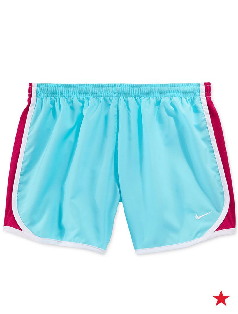 Colorful and comfortable athletic shorts from Nike will be