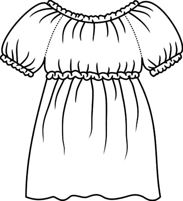 Mexican Dress How To Draw Mexican Dress Coloring Pages Blouse