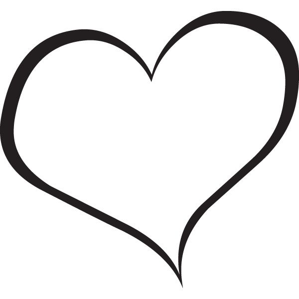 Hearts Black And White Pictures Images - Free Clip Art ❤ liked on ...