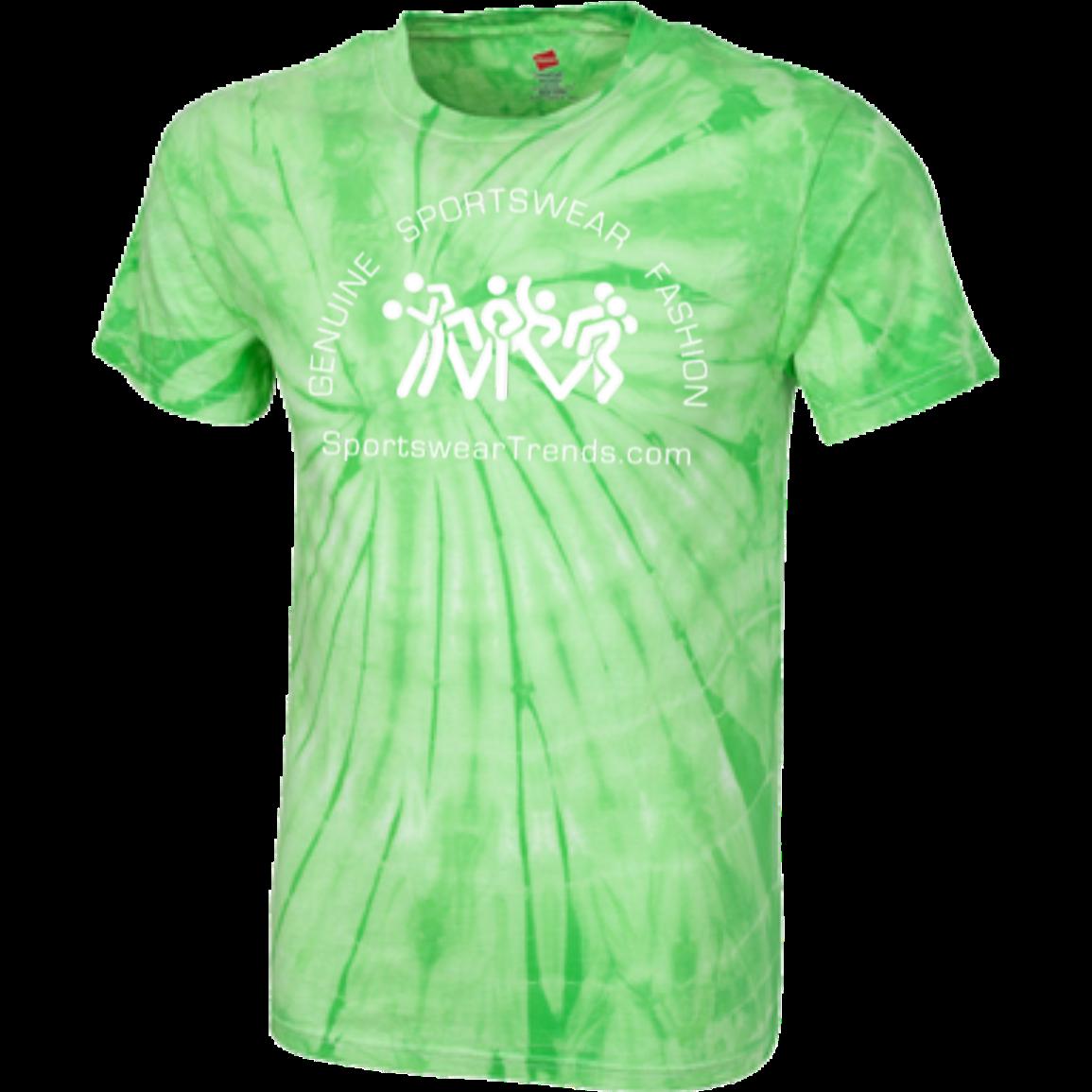 Customized 100% Cotton Tie Dye T-Shirt