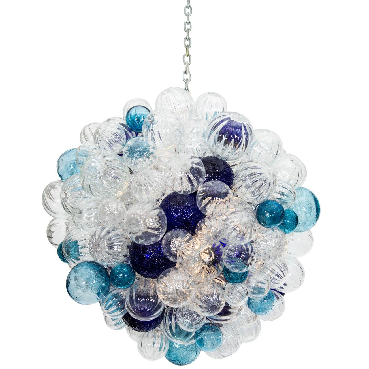 101 Beach House Must-Haves: Liza Sherman Large Glass Bubble Chandelier | $6,800