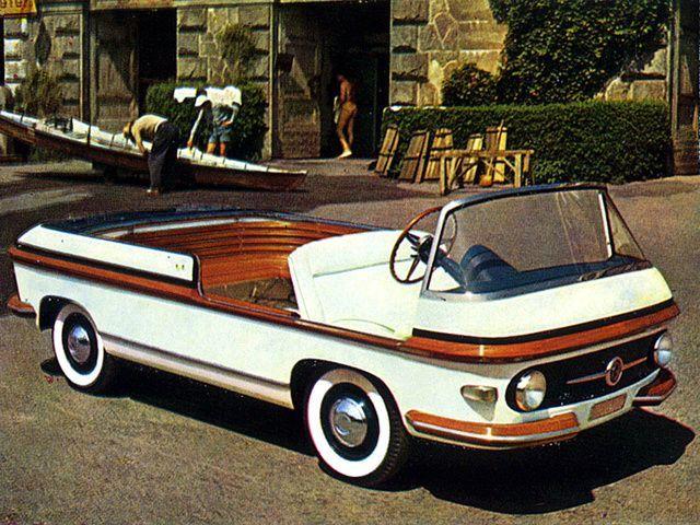 3d78843ac0de 1956 Fiat Multipla Marine Concept by Pininfarina  1950s   Concept Cars    Fiat, Cars, Fiat 600