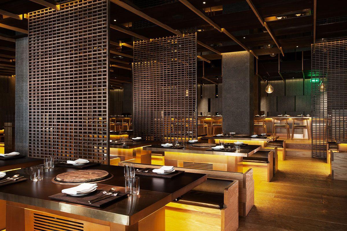 chi-q restaurant, shanghai  Restaurant InteriorsCafe Restaurant KoreanShanghaiDesigners