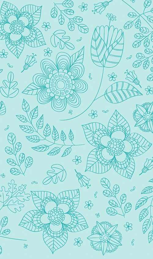 Kartinki Cherez We Heart It Pattern Vintage Flowers Wallpaper Mandala Wallpaper Wallpaper Backgrounds