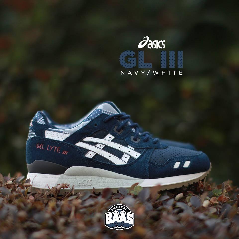 asics #gel #lyteiii #navy #white #sneakerbaas #baasbovenbaas