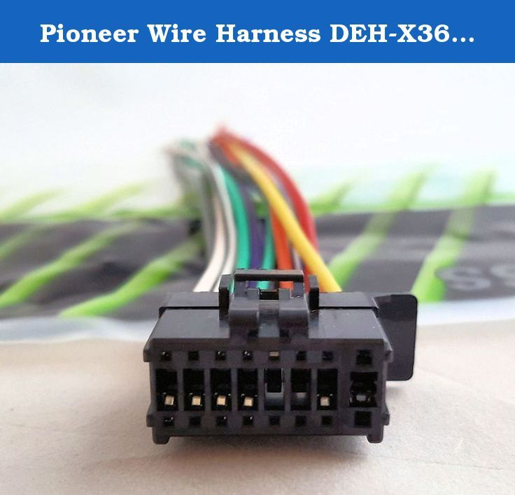 Pioneer Wire Harness Deh X3600ui Deh X36ui Deh X4600bt Deh X5600hd Deh X56hd Deh X6600bs Deh X66bt Deh X6600bt Dxt Video Games For Kids Video Camera Car Videos