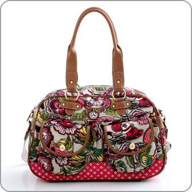 """OILILY Bag Tasche """"African Garden"""" Carry All sand. Seen at www.milksugar.de"""