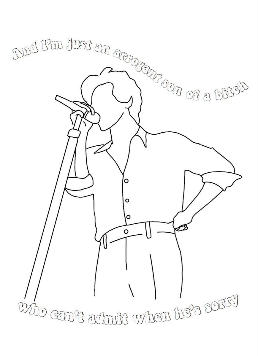 12+ Coloring book harry styles coloring pages information