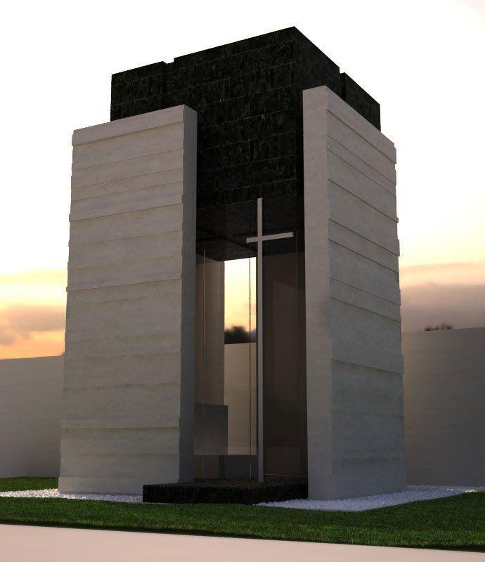Cappella funeraria dise o de espacios interiores for Arquitectura funeraria