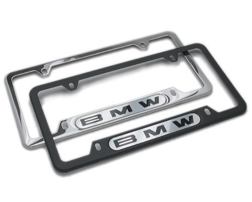 Nice BMW License Plate Frame (Chrome) With BMW Logo 82120010395   Http://