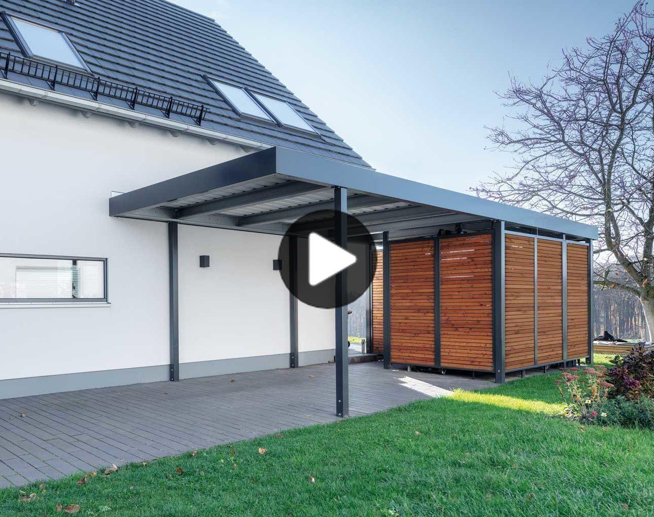 Pin Von Andrenetta Hood Auf Carports In 2020 Einzelcarport Carport Garagenbau