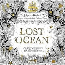 9780753557150 Lost Ocean An Inky Adventure Colouring Book