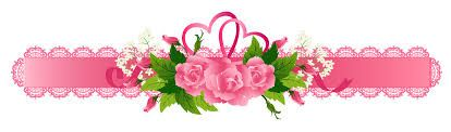 Decorative Ribbon with roses